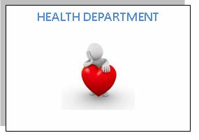 OUR ACTIVITIES HEALTH DEPARTMENT
