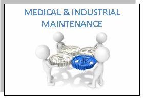 OUR ACTIVITIES MEDICAL INDUSTRIAL MAINTENANCE